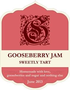 Gooseberry JamLabel