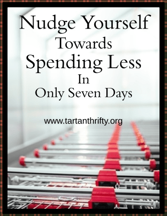 Nudge Yourself Towards Spending Less This Year