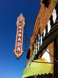 Granada Theater. Alpine.