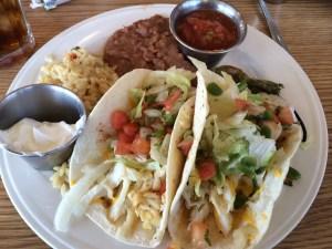 Fish Tacos. Meh.