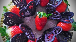 Corazones de Chocolate Tarta Tarturumies