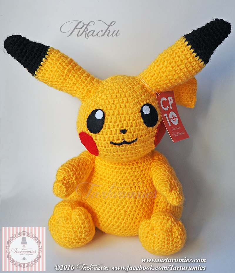 Amigurumi Patron: Pikachu - Tarturumies