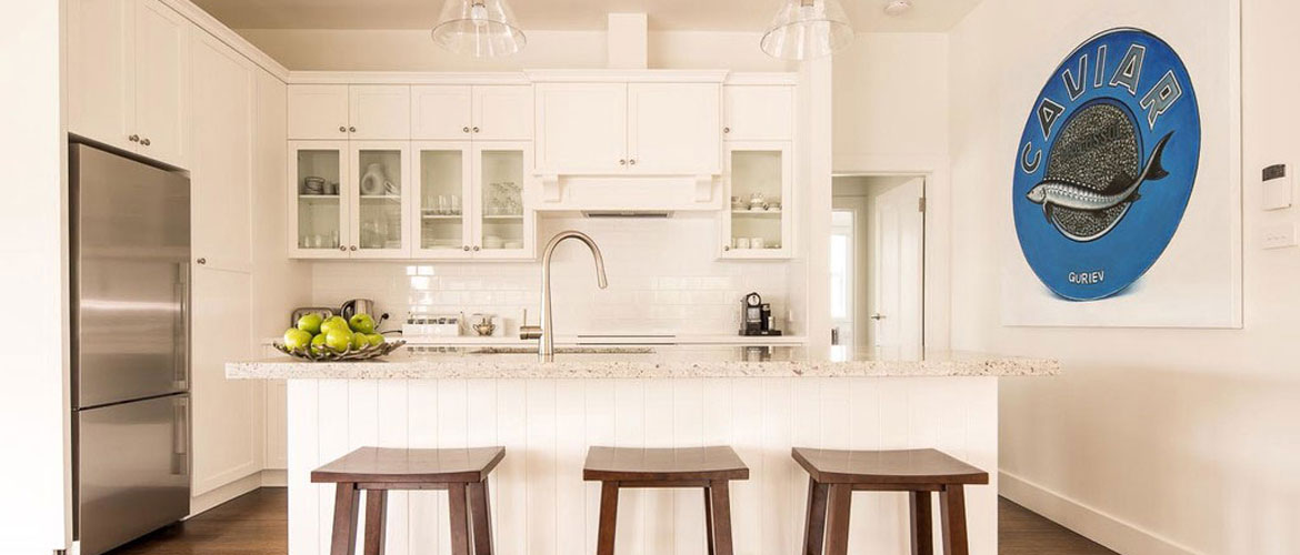 Beach Inspired Kitchen