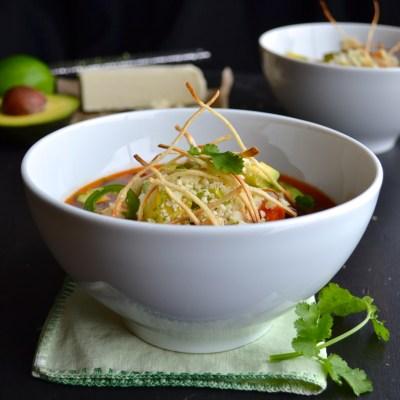 Tortilla Soup - taste love and nourish