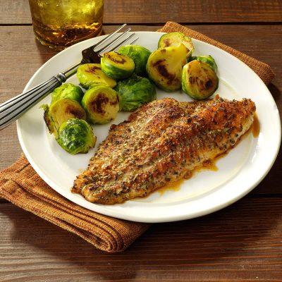 Zesty Baked Catfish Recipe | Taste of Home