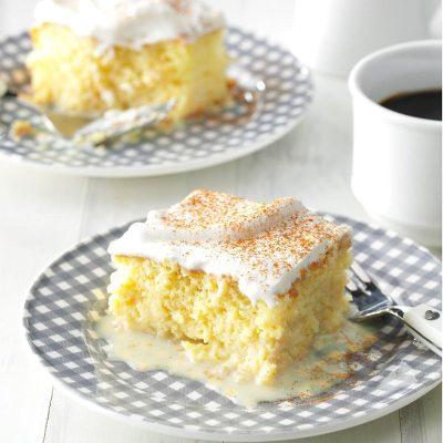 Shortcut Tres Leches Cake Recipe | Taste of Home