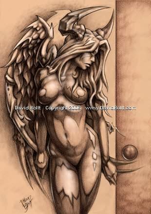 hot naked wallpaper fantasy girl