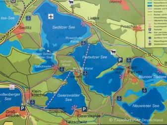 Lausitzer Seenland, Tauchen im Lausitzer Seenland