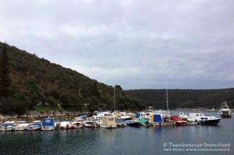 Hafen Krnica, Tauchen in Kroatien, Wracktauchen, GUE TEC1 Kurs