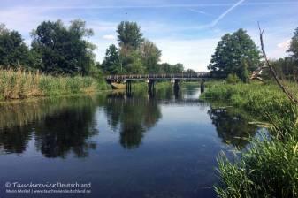 Ausstieg, Flusstauchen, Tauchen in der Spree, Tauchen in Brandenburg