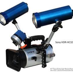 SONY-HDR-HC1E, Unterwasser Gehäuse, Eigenbau, Historisches Tauchen