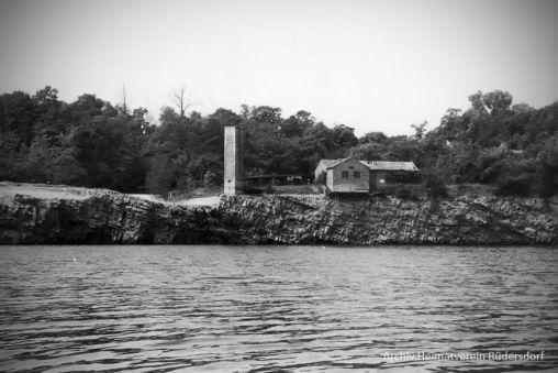 Trockenlegung Heinitzsee, Tauchen im Heinitzsee, Historisches Tauchen