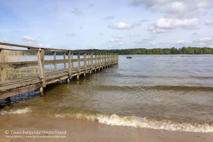 Vilzsee, Tauchen im Vilzsee, Tauchen in Mecklenburg-Vorpommern