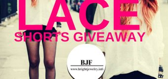 BJF x Fashion Travels Lace Shorts #Giveaway