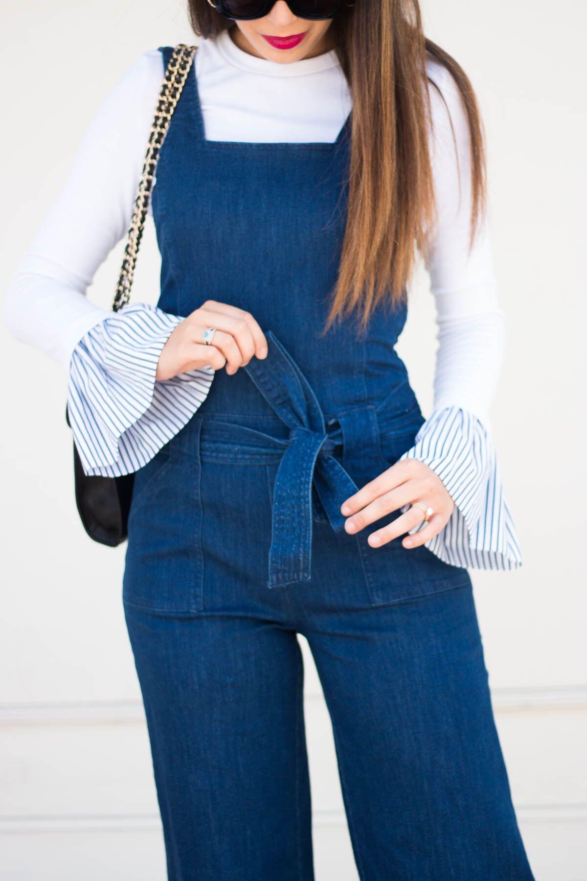 Two Ways To Wear A Denim Jumpsuit Tayler Malott