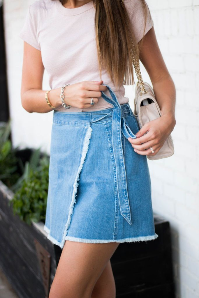 Madewell Denim Skirt-TaylerMalott.com