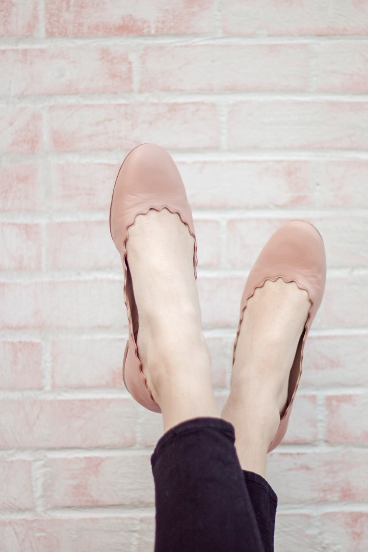 Friday Trends: Review Of The Chloé 'Lauren' Scalloped Ballet Flats