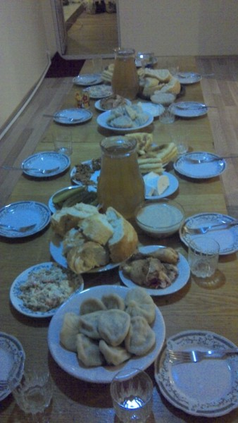 [photo of New Years Dinner]