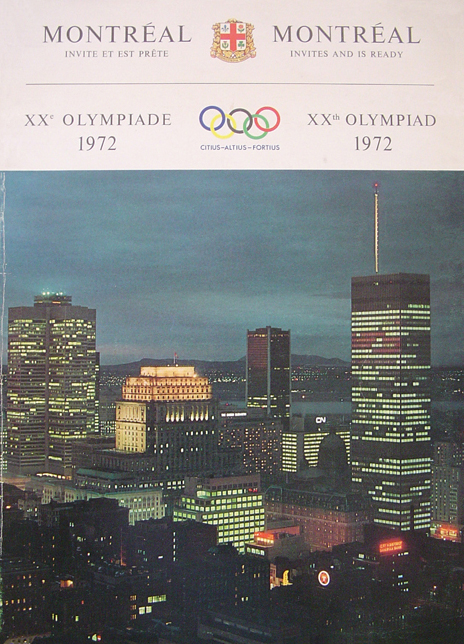 Cover of the 1972 Summer Olympics 'bid-book' - photo credit unknown