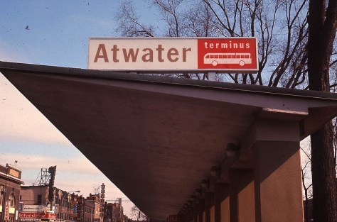 Credit to R.N. Wilkins - photo of the Atwater Terminus before mid-1960s renovation
