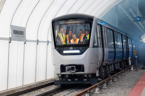 New Azur Métro train test run - 2013