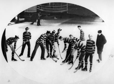 Hockey Match, Crystal Palace (Montreal - 1881)