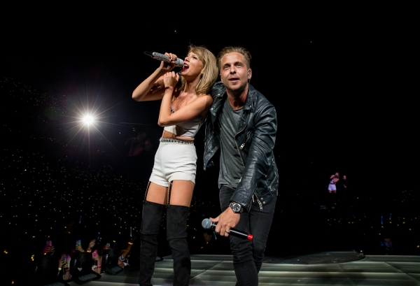 Taylor Swift and Ryan Tedder performed