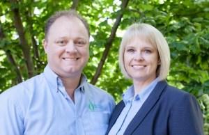 John and Debbie of John Williams Heating.