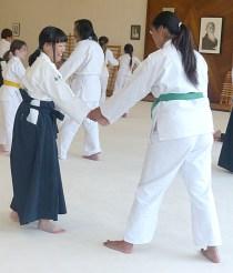Kanako and Samantha