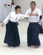 Kanako (uke) and Andrew (nage)