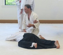 MichaelE pins an unknown aikidoist