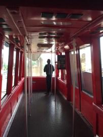 MTN Dave in tram car