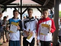 Sieger U18 männlich Landkreismeisterschaft Ebersberg 2015