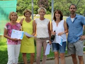 Sieger Damen B Clubmeisterschaft TC Topspin Grafing Ebersberg 2016