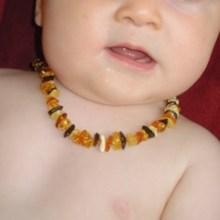 collier bébé ambre naturel véritable TchooC
