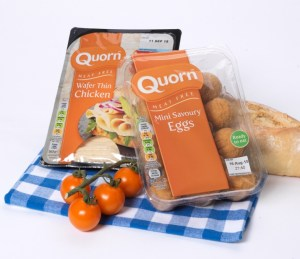 Quorn label replacement