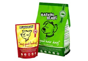 Pet food packaging - Barking Heads