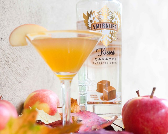 Smirnoff Caramel Apple Martini