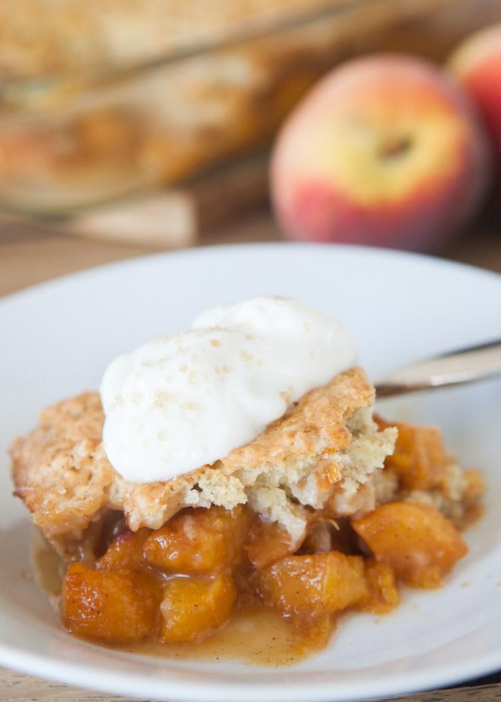 .Breakfast Peach Cobbler Teacher-Chef-9928