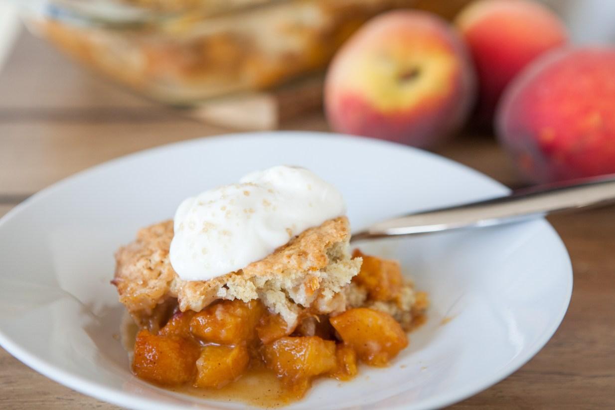 .Breakfast Peach Cobbler Teacher-Chef-9929