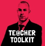 @TeacherToolkit logo new book Vitruvian man TT