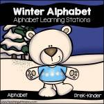 Winter Alphabet Stations