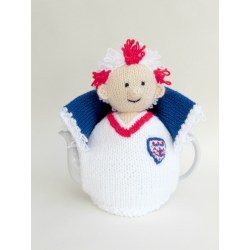 Especial England Football Crazy Tea Cosy Knitted Tea Cosies Crazy Daisy Tea Cups Crazy Cups Tea Sampler