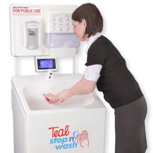 Stop-n&#039;Wash mobile sinks