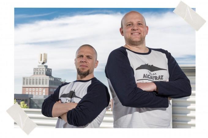 Team Alcatraz: Peter Kalina und Dominik Marzodko
