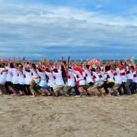Team Building Pantai Kuta