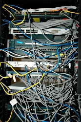 mess of wires