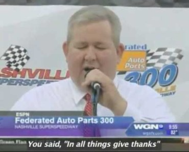 The Nationwide NASCAR Prayer in Song!