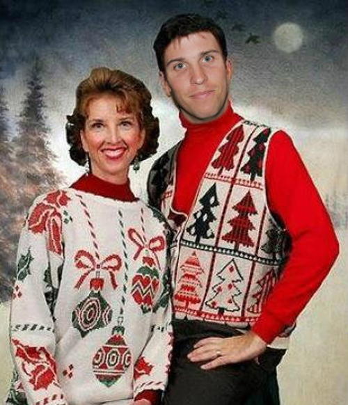 Denny Hamlin in his ugly christmas sweater Holiday sweater funny pictures funny nascar driver pictures photos