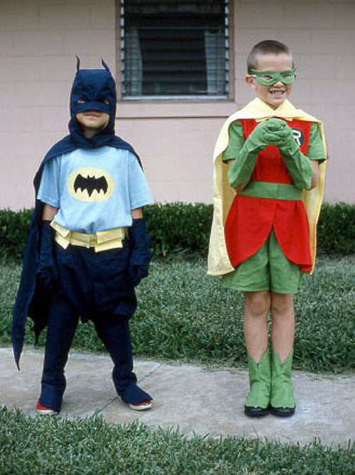 Batman and Robin costume,~Worst Halloween Costumes: 23 Bad, Stupid & Tasteless
